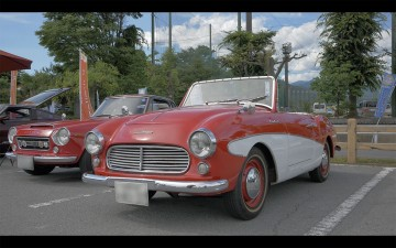 フェアレディと最初にネーミングされた1200は1960年式