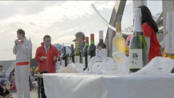 最後は豪華抽選会!ワイン会からもたくさんのワインが提供されました