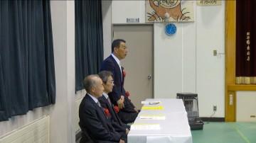 来賓の市議会議員や区長会長からも祝辞を頂戴しました