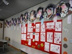 凧の展示風景