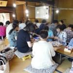 八田家書院でつるし雛講習会が開催されました。