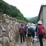 「芦川町新井原集落現地散策会」を行いました